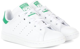adidas Kids Stan Smith leather sneakers