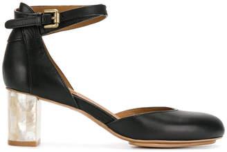 See by Chloe block heel pumps
