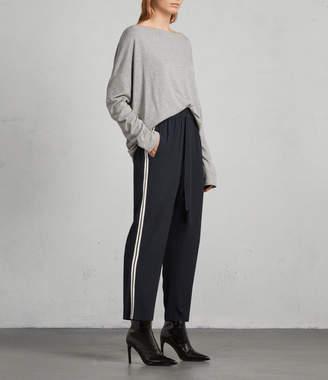 AllSaints Talia Stripe Trouser