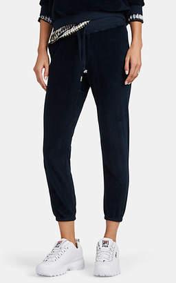 NSF Women's Sayde Cotton-Blend Velour Sweatpants - Navy