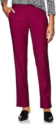 Derek Lam Women's Worsted Wool-Blend Slim Trousers
