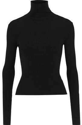 Dolce & Gabbana Ribbed Cashmere And Silk-blend Turtleneck Sweater
