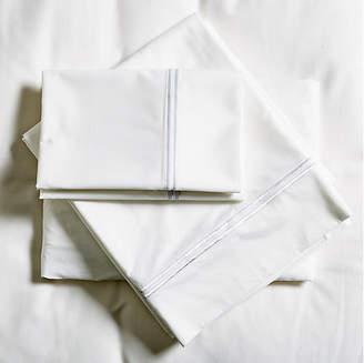 Pom Pom at Home Sateen Sheet Set - White