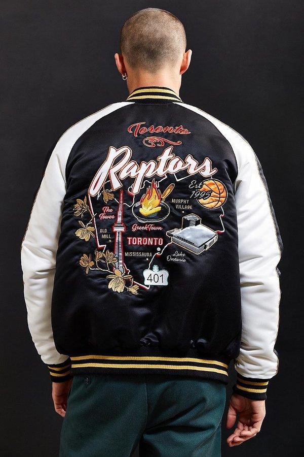 Starter X UO NBA Toronto Raptors Souvenir Jacket