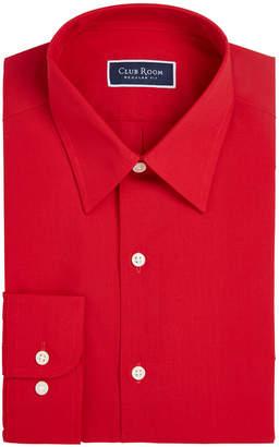 Club Room Men's Classic/Regular Fit Solid Dress Shirt