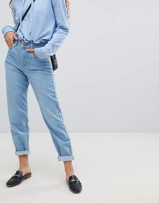 Miss Selfridge Frill Top Mom Jeans