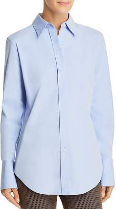 Theory Essential Button-Front Shirt