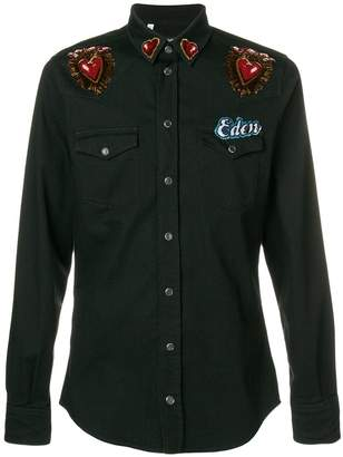 Dolce & Gabbana Eden patch shirt