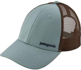 Patagonia Small Text Logo LoPro Trucker Hat