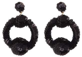 At Nordstrom Rack Baublebar Madonna Sequin Hoop Dangle Earrings