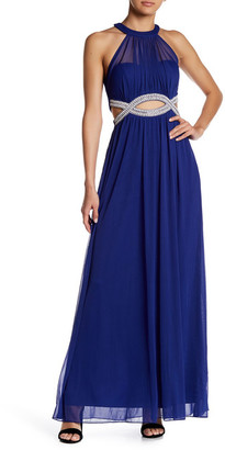 Speechless Infinity Waist Halter Dress (Juniors) $99 thestylecure.com