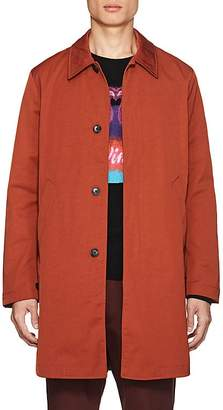 Paul Smith Men's Mac Tech-Twill Raincoat