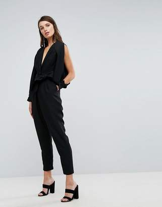 C/Meo Collective Solitary Tie Up Jumpsuit