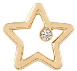 Aurelie Bidermann Star & Diamond earring