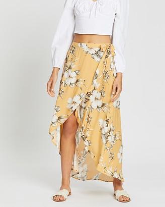 Rip Curl Island Time Wrap Skirt