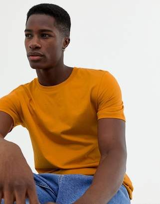 Selected t-shirt in pima cotton