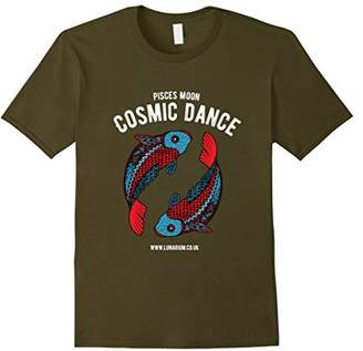 Pisces Moon T-Shirt Dark