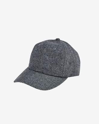 Express San Diego Hat Company Wool Herringbone Ball Cap