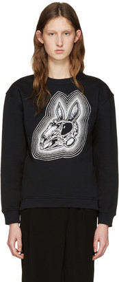 McQ Alexander Mcqueen Black Be Here Now Pullover $270 thestylecure.com