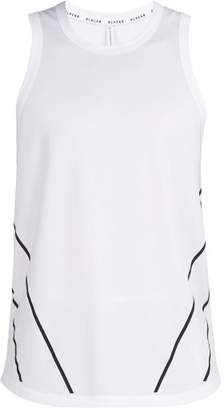BLACKBARRETT by NEIL BARRETT Graphic Print Water Repellent Tank Top - Mens - White