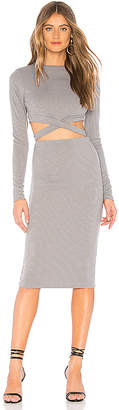 by the way. Christa Cut Out Midi Dress