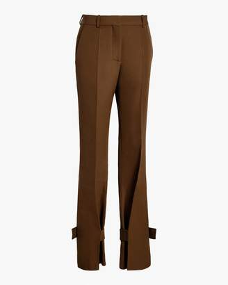 Victoria Beckham Wrapped Ankle Cuff Trouser
