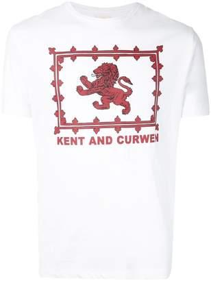 Kent & Curwen logo print T-shirt