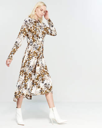 Free People Tough Love Floral Shirtdress