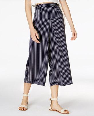 J.O.A. Striped Culottes $75 thestylecure.com