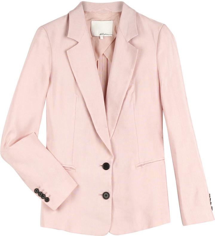 3.1 Phillip Lim Oversized linen blazer