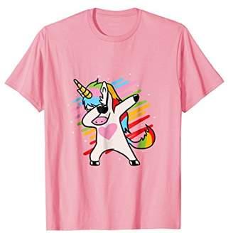 Funny Dabbing Unicorn Shirt Unicorn Lover Girls Dab Gift