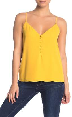 Socialite Button Front Camisole