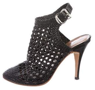 Sigerson Morrison High-Heel Cage Pumps