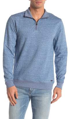 Faherty BRAND Dual Knit Quarter Zip Pullover