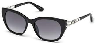 GUESS Women's Gu7562 Square Sunglasses
