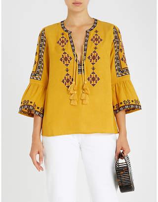 Tigerlily Azar cotton blouse