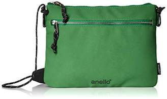 Anello (アネロ) - [アネロ]ショルダーバッグ AH-B3022 JAUNTY サコッシュ グリーン