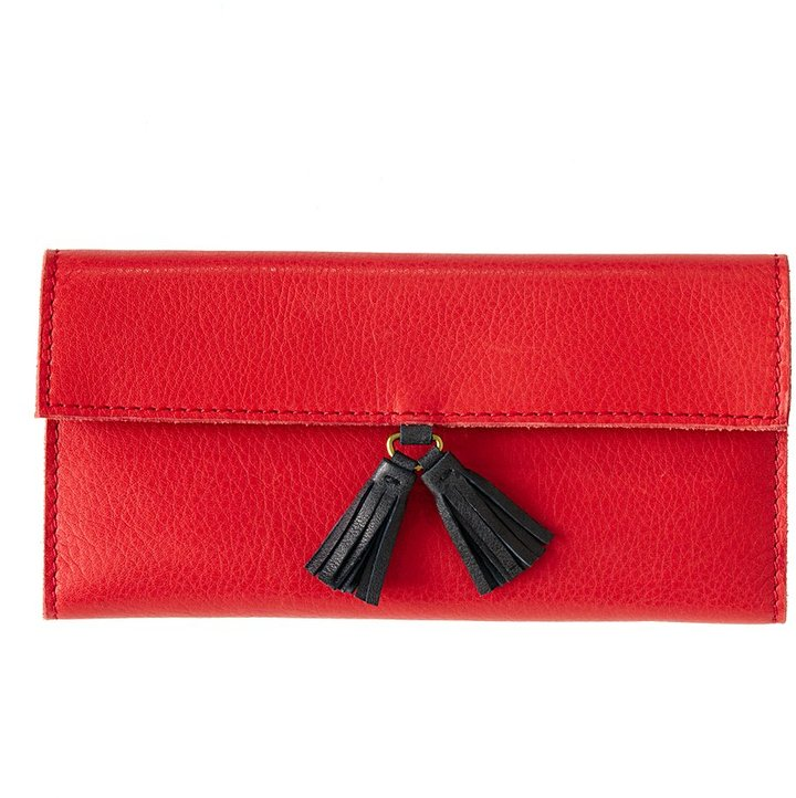 The tassel wallet