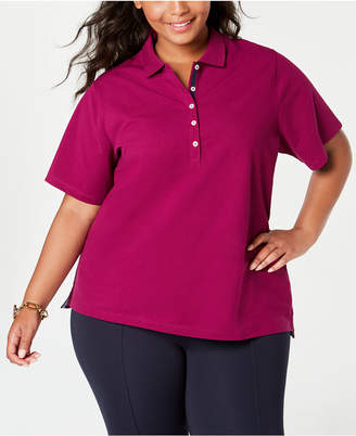 Tommy Hilfiger Plus Size Short-Sleeve Polo Shirt