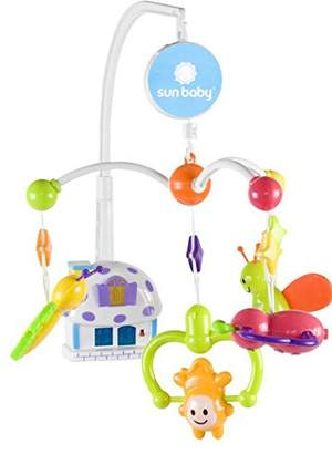 Sun Baby Musical Mobile with Light and Toys