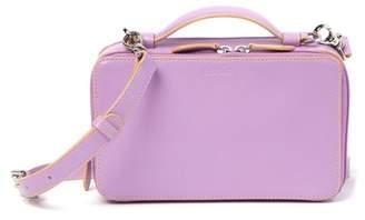 Lodis Downtown Sally RFID Zip-Around Leather Crossbody Bag
