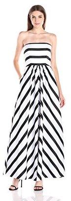 Betsy & Adam Women's Stripe Balldress Bestseller $126 thestylecure.com