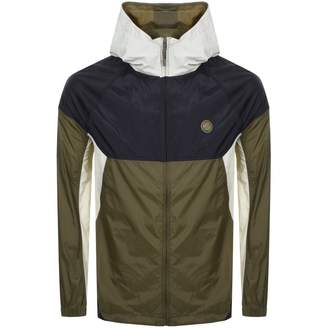 Pretty Green Wind Runner Jacket Khaki