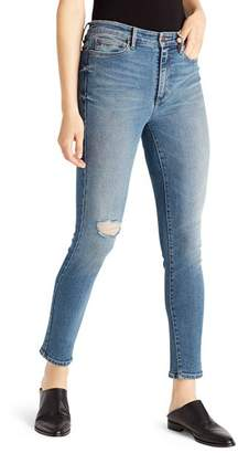 Ella Moss High-Rise Ankle Skinny Jeans in Pine