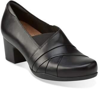 Clarks R) 'Rosalyn Adele' Block Heel Pump