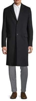 Valentino Long-Sleeve Wool Coat