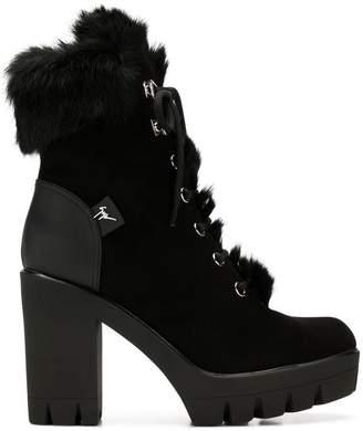 Giuseppe Zanotti Design suede high heel boots