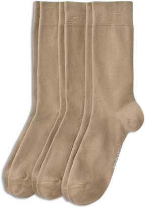 Jockey 3-Pack Flat Knit Dress Socks