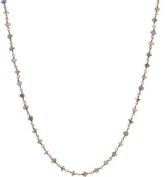 Argentovivo Bead Wrap Necklace, 36