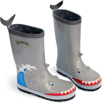 Kidorable Little Boys' Shark Rain Boots